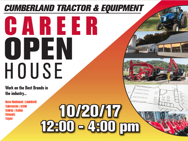 Career OPEN HOUSE at Parman Tractor & Equipment