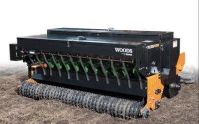 SAVE Money by Planting Clover with Woods Precision Super Seeder