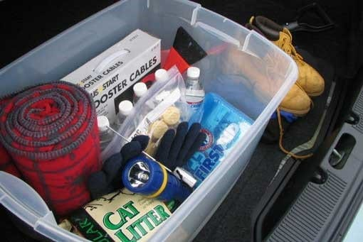 How to Make a Cold Weather Survival Kit for Your Truck or Car