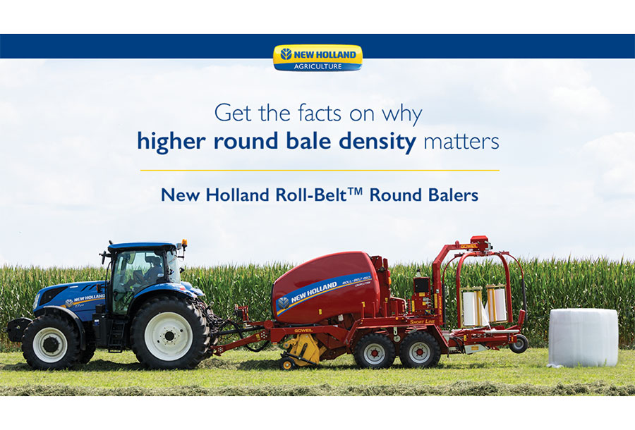 Penn State Study Finds New Holland Roll-Belt Round Bailers Lead Industry in Bale Density